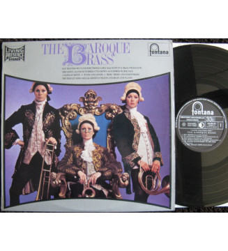The Baroque Brass - The Baroque Brass (LP) mesvinyles.fr