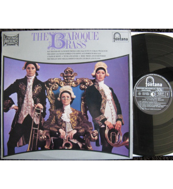 The Baroque Brass - The Baroque Brass (LP)