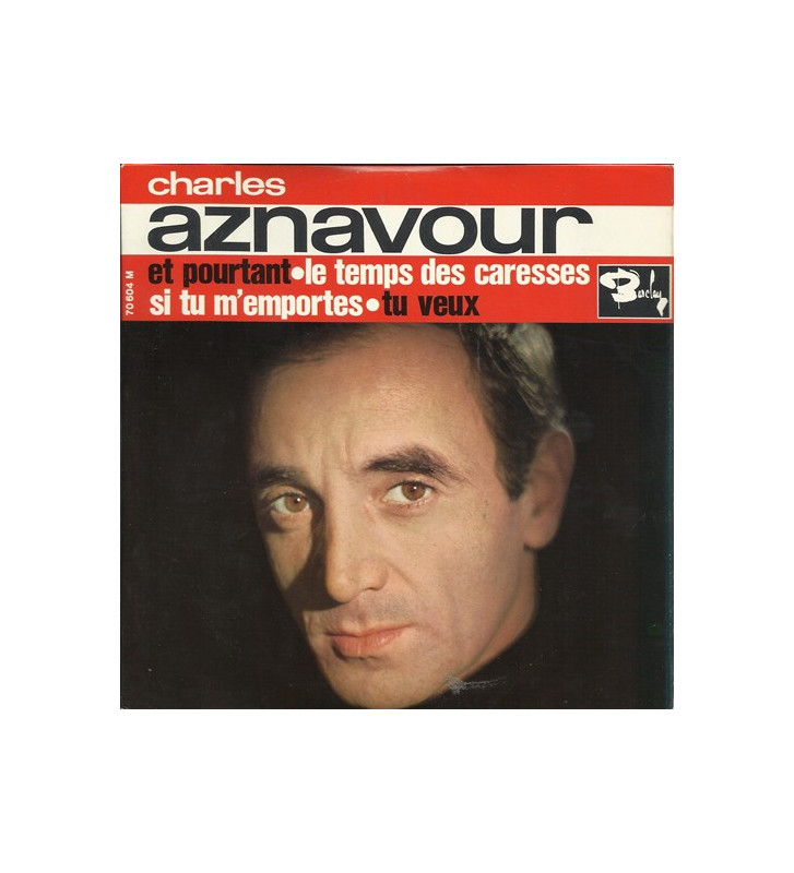 """Charles Aznavour - Et Pourtant (7"""", EP) mesvinyles.fr"""