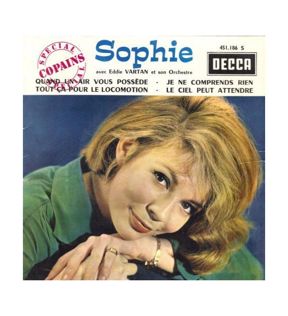 """Sophie (3), Eddie Vartan Et Son Orchestre - Quand Un Air Vous Possède (7"""", EP, Mono) mesvinyles.fr"""
