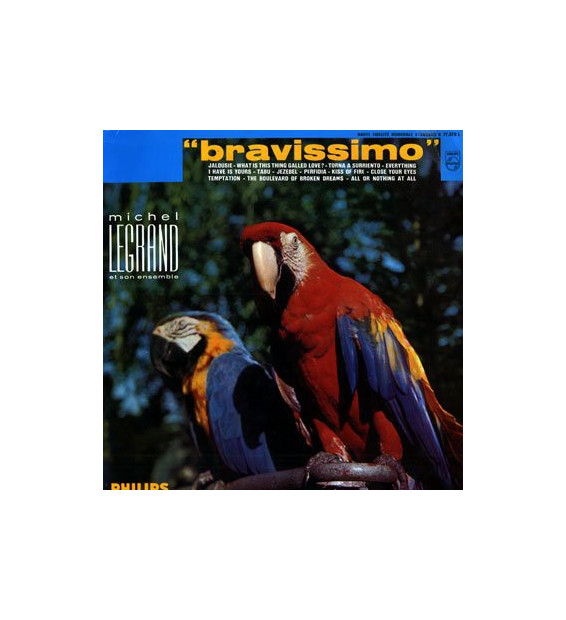 Michel Legrand Et Son Ensemble - Bravissimo (LP)