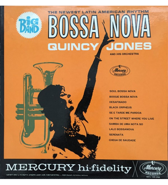 Quincy Jones And His Orchestra - Big Band Bossa Nova (LP, Album, Mono)