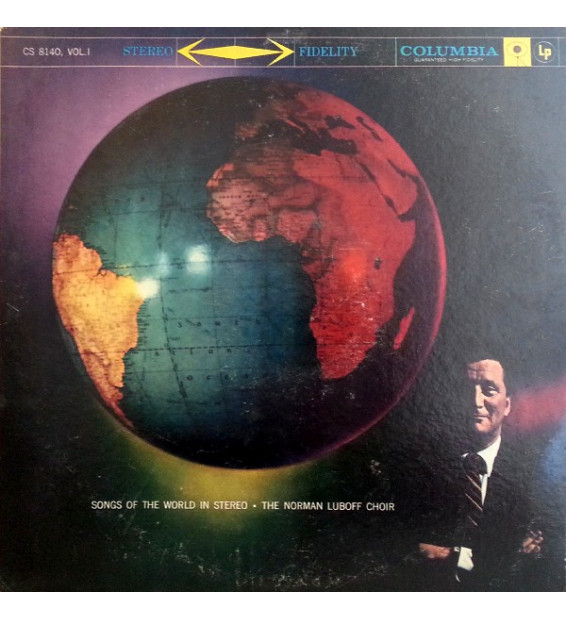 Norman Luboff Choir - Songs Of The World, Volume 1 (LP) mesvinyles.fr