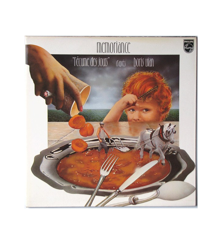 Mémoriance - L'Écume Des Jours (LP, Album) mesvinyles.fr