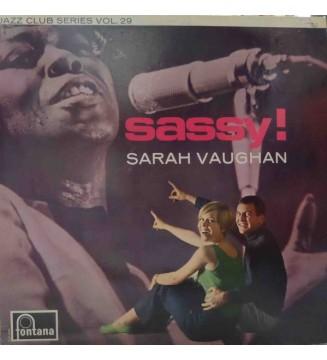 Sarah Vaughan - Sassy! (LP, Album, Mono, RE) mesvinyles.fr