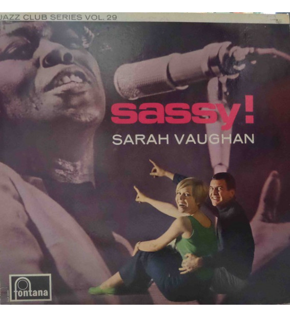 Sarah Vaughan - Sassy! (LP, Album, Mono, RE)