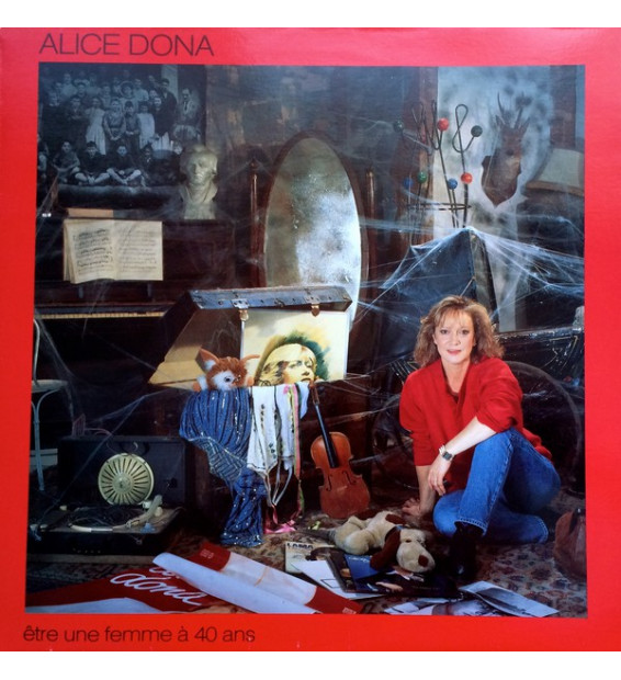 Alice Dona - Etre Une Femme A' 40 Ans (LP) mesvinyles.fr