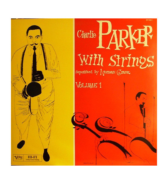 Charlie Parker - Bird On Verve - Volume 1 (LP, Comp) mesvinyles.fr