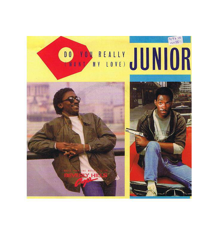 "Junior (2) - Do You Really (Want My Love) (12"") mesvinyles.fr"