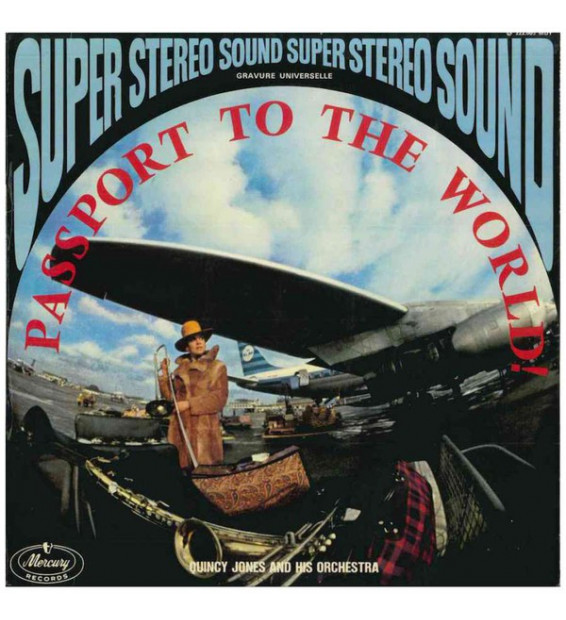 Quincy Jones And His Orchestra - Passport To The World (LP, Album)