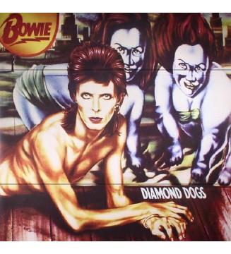 Bowie* - Diamond Dogs (LP, Album, RE, RM, 180) mesvinyles.fr