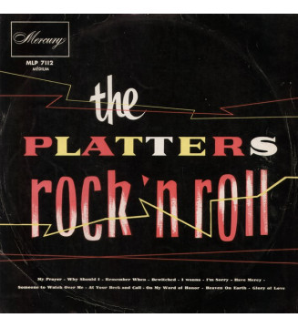 The Platters - Rock'n Roll (LP, Album) mesvinyles.fr