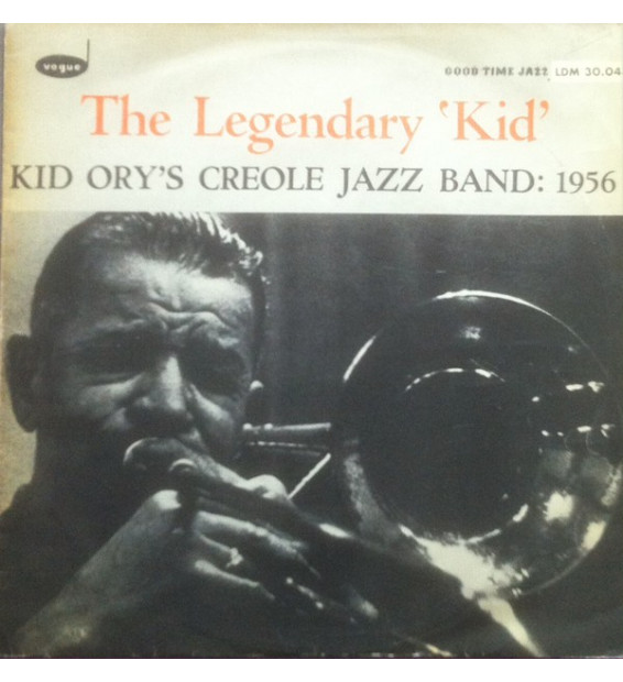 Kid Ory's Creole Jazz Band* - The Legendary 'Kid' (LP) mesvinyles.fr