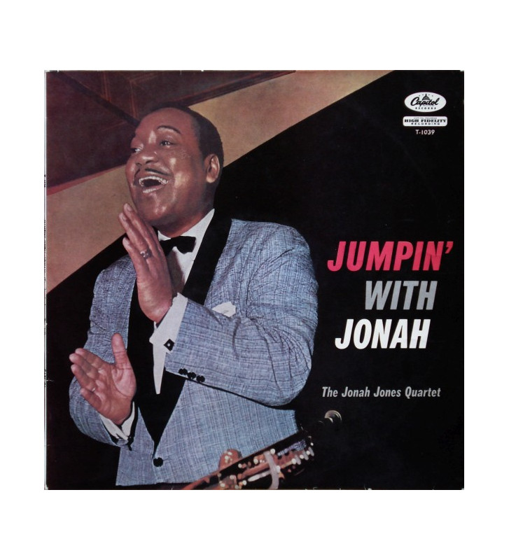 The Jonah Jones Quartet - Jumpin' With Jonah (LP, Album) mesvinyles.fr