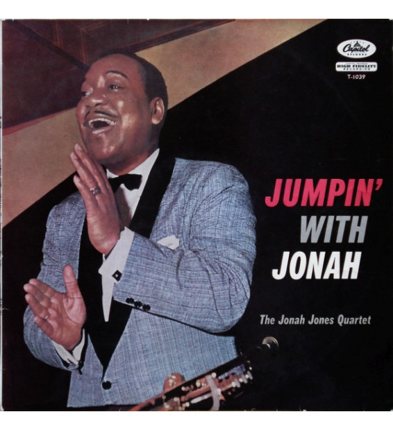 The Jonah Jones Quartet - Jumpin' With Jonah (LP, Album)