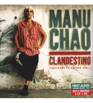 Manu Chao - Clandestino (2xLP, Album, RE + CD, Album, RE + Gat) mesvinyles.fr