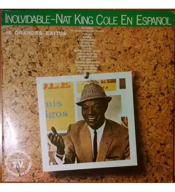Nat King Cole - Inolvidable - Nat King Cole En Español (LP, Comp)