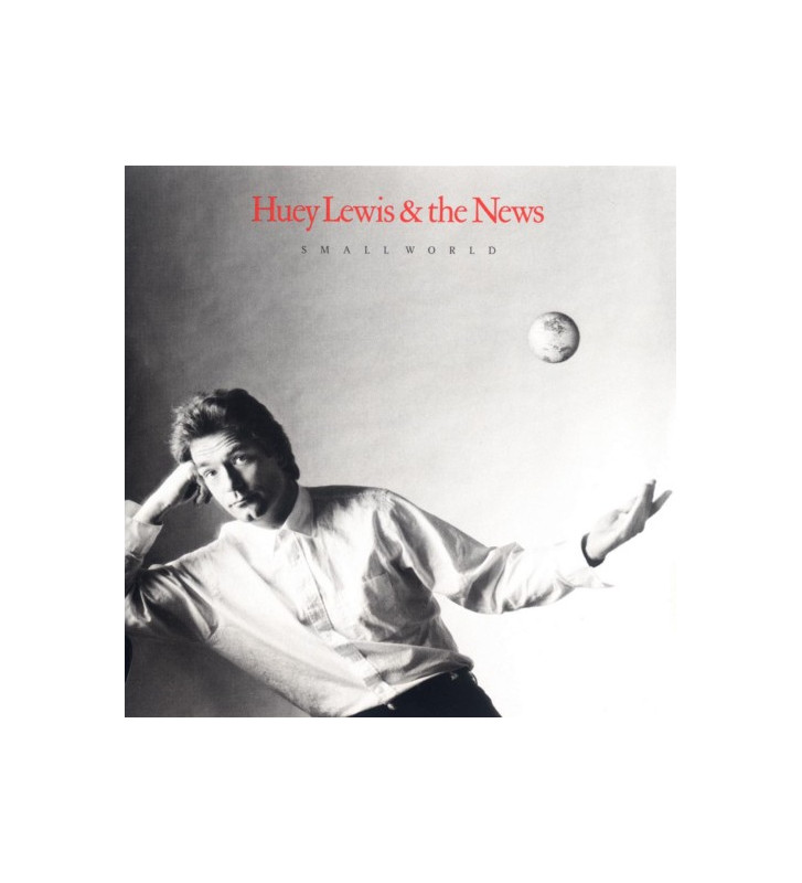 Huey Lewis & The News - Small World (LP, Album) mesvinyles.fr