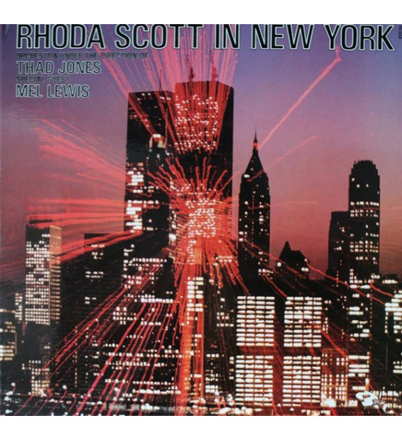 Rhoda Scott Orchestra Under The Direction Of Thad Jones Special Guest Mel Lewis - Rhoda Scott In New York (LP, Album)