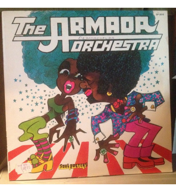 The Armada Orchestra - The Armada Orchestra (LP) mesvinyles.fr