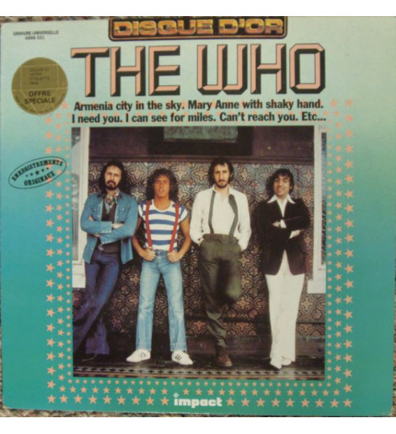 The Who - The Who (LP, Comp, RE)