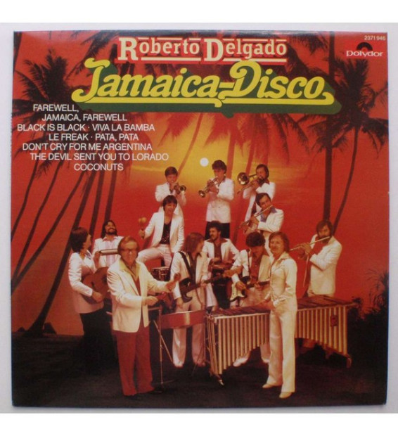 Roberto Delgado - Jamaica-Disco (LP, Album) mesvinyles.fr