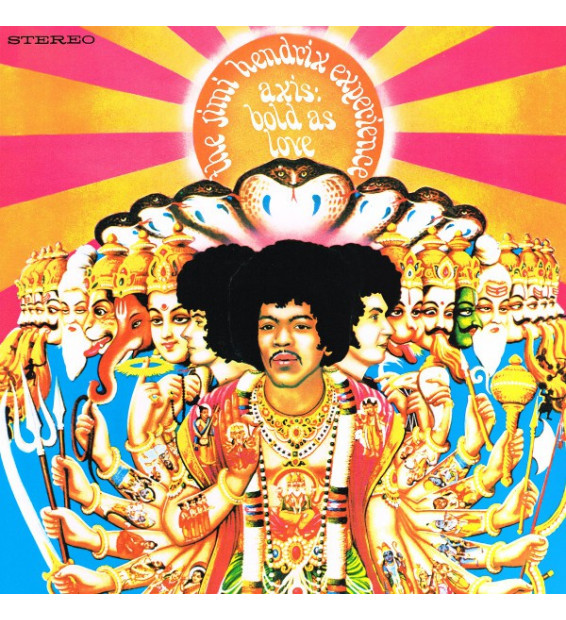 Vinyle - THE JIMI HENDRIX EXPERIENCE - Axis: Bold As Love
