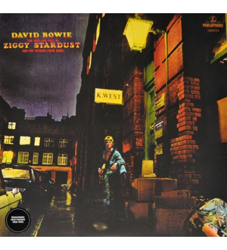 DAVID BOWIE - The Rise And Fall Of Ziggy Stardust And The Spiders From Mars mesvinyles.fr
