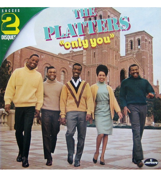 The Platters - Only You (2xLP, Comp, RE)