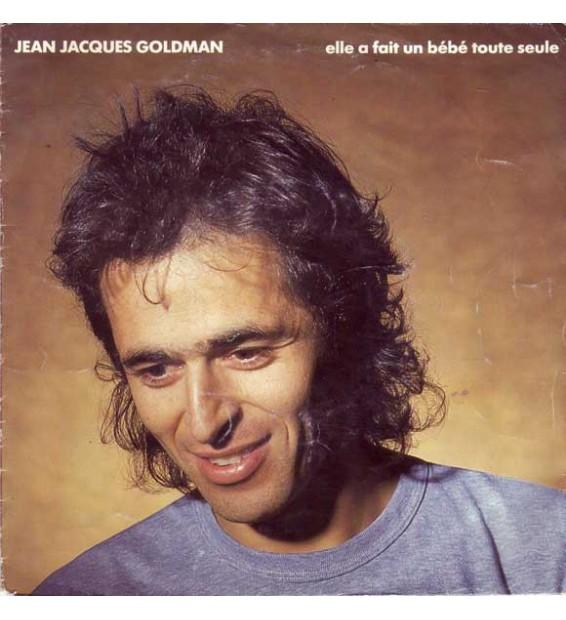 """Jean-Jacques Goldman - Elle A Fait Un Bébé Toute Seule (7"""") mesvinyles.fr"""