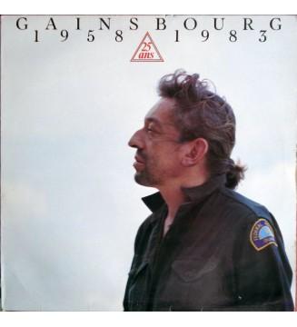 Gainsbourg* - 1958 / 25 Ans / 1983 (LP, Comp)
