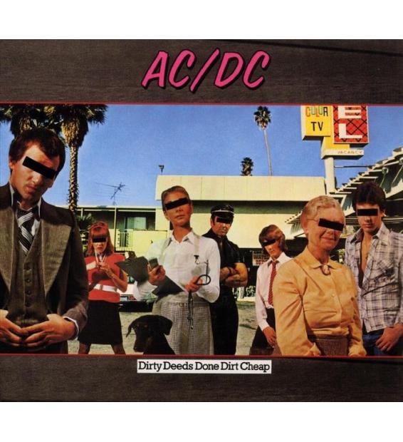 AC/DC - dirty deeds done dirt cheap (180 gram)