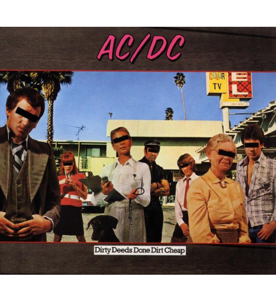 AC/DC - dirty deeds done dirt cheap (180 gram)