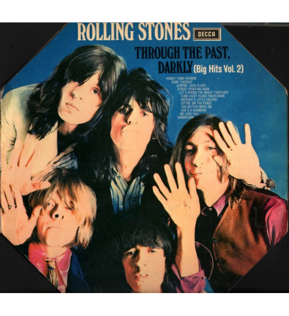 The Rolling Stones - Through The Past, Darkly (Big Hits Vol. 2) (LP, Comp, Mono, Oct) mesvinyles.fr
