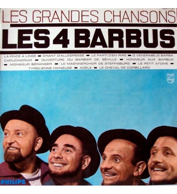 Les 4 Barbus* - Les Grandes Chansons (LP, Comp, Mono)