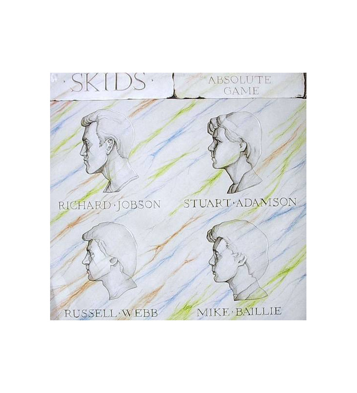 Skids - The Absolute Game (LP) mesvinyles.fr