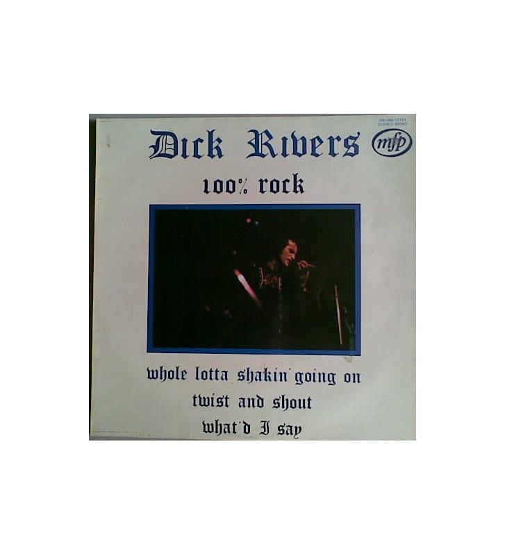 Dick Rivers - 100% Rock (LP, Comp) mesvinyles.fr
