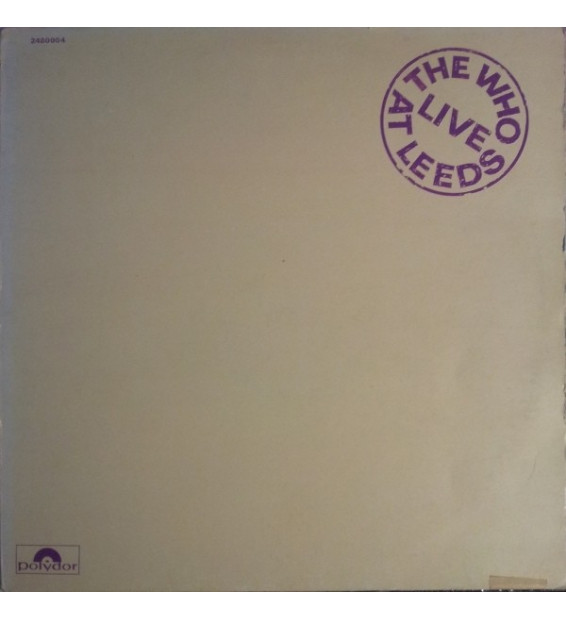 The Who - Live At Leeds (LP, Album)