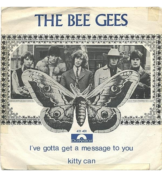 Bee Gees - I've Gotta Get A Message To You / Kitty Can mesvinyles.fr