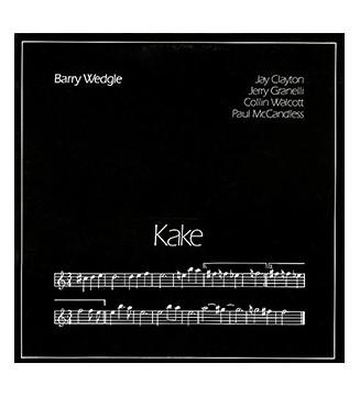 Barry Wedgle - Kake (LP) mesvinyles.fr