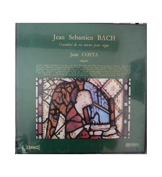 Jean Sebastien Bach* Orgue Jean Costa (2) - L'essentiel De Ses Œuvres Pour Orgue (3xLP + Box)
