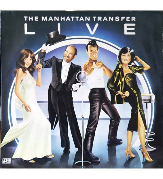 The Manhattan Transfer - Live mesvinyles.fr