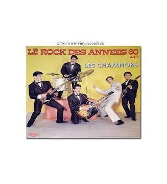 Les Champions (2) - Le Rock Des Annees 60 Vol.2 (LP, Comp) mesvinyles.fr