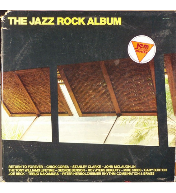 Various - The Jazz Rock Album (2xLP, Comp, Gat) mesvinyles.fr