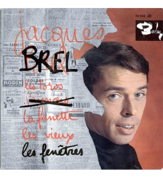 "Jacques Brel - Les Toros (7"", EP) mesvinyles.fr"