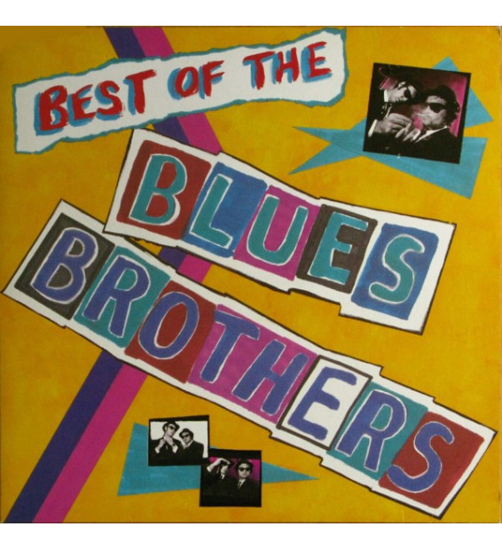 The Blues Brothers - Best Of The Blues Brothers (LP, Comp)