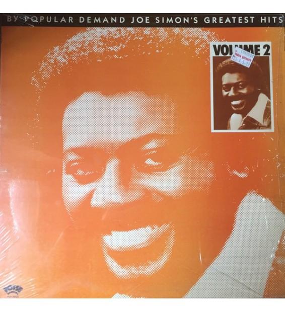 Joe Simon - By Popular Demand - Joe Simon's Greatest Hits Volume 2 (LP, Comp) mesvinyles.fr