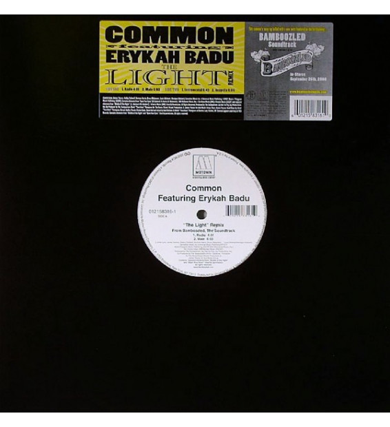"Common Featuring Erykah Badu - The Light (Remix) (12"") mesvinyles.fr"