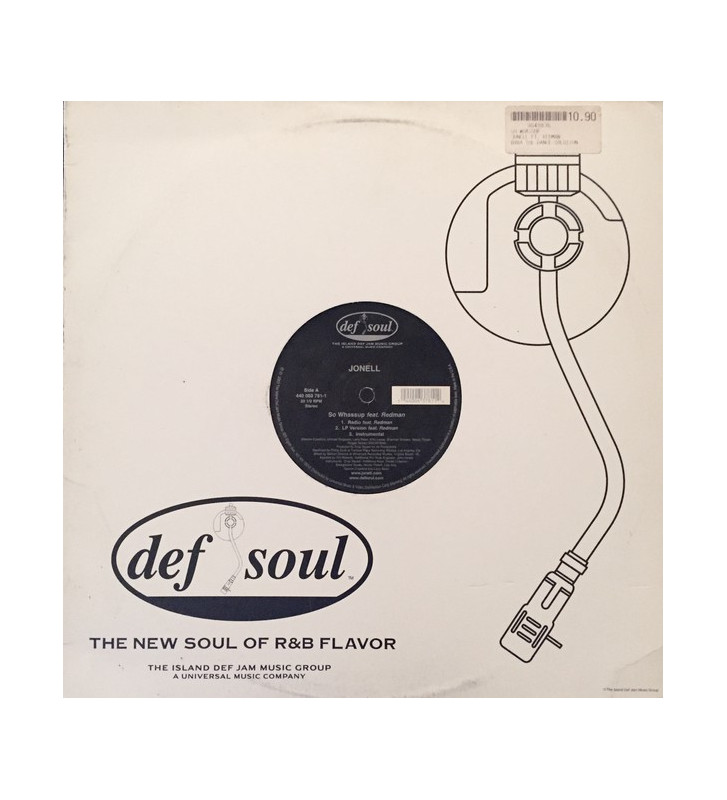"Jonell - So Whassup / Don't Stop (12"") mesvinyles.fr"