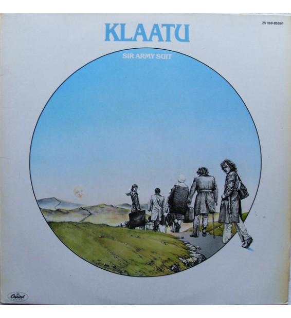 Vinyle - Klaatu - Sir Army Suit